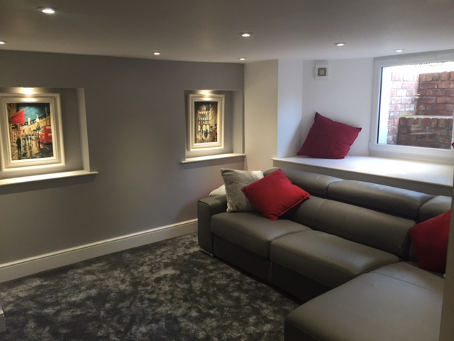 Damp treat worcester damp proofing basement cellar loft conversions worcestershire based for Basement to bedroom conversion